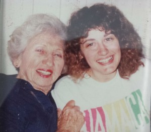 Nana and Me A Long Time Ago!