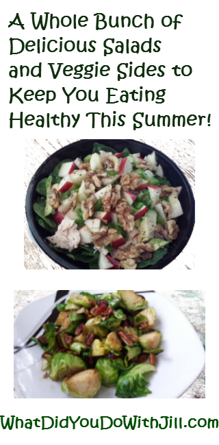 A Whole Bunch of Healthy Summer Salads and Veggie Sides!